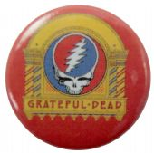 Grateful Dead - 'Three From the Vault' Button Badge